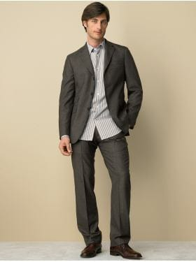 BananaRepublic.com: men: Heritage tweed stripe suit: suits