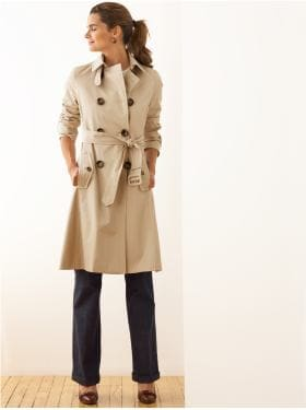BananaRepublic.com: women: The Trench: the new silhouettes: new arrivals from bananarepublic.com