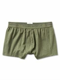 Stretch cotton sport trunk