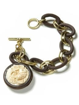 BananaRepublic.com: jewelry & accessories: Fish medallion bracelet:  : see all jewelry from bananarepublic.com