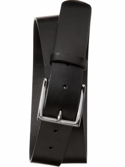 Banana Republic Men's Leather Black Modern Belt