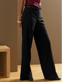 BananaRepublic.com: women: The Wide-Leg Trouser: the new silhouettes: new arrivals from bananarepublic.com