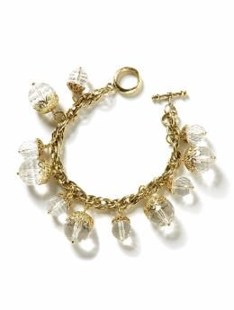 BananaRepublic.com: jewelry & accessories: Crystal quartz charm bracelet: new arrivals from bananarepublic.com