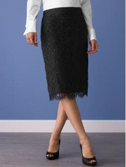 women: Lace skirt: office party: going out | Banana Republic from bananarepublic.com