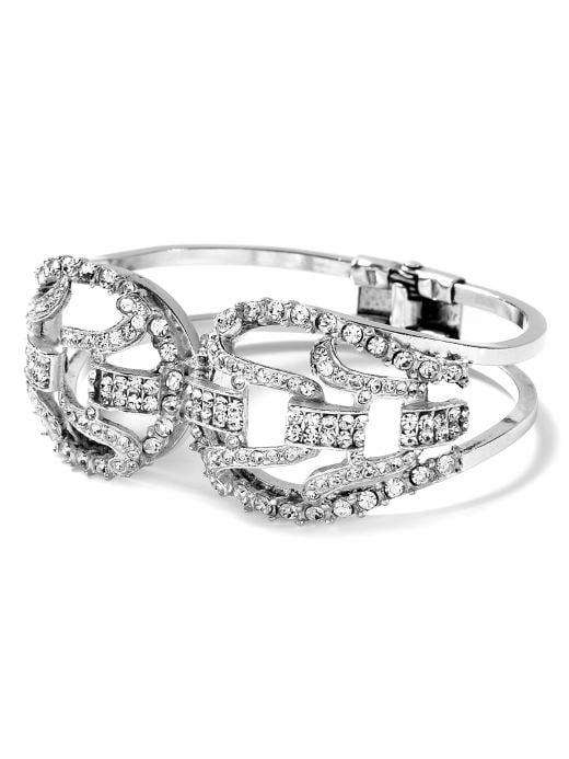 jewelry & accessories: Diamante hinged cuff bracelet:   : see all jewelry | Banana Republic from bananarepublic.com