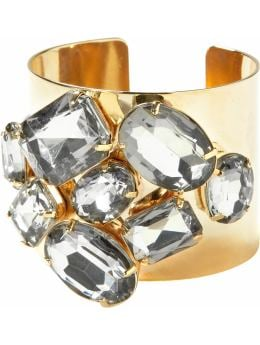 Jewelled brass cuff: top sellers | Banana Republic from bananarepublic.com