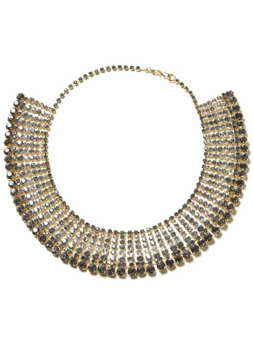 women: Glamour sparkle necklace: finishing touches: going out | Banana Republic from bananarepublic.com