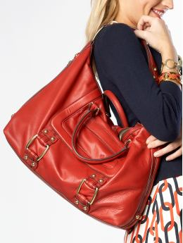 Greenwich oversize shoulder bag: valentine's day gifts | Banana Republic from bananarepublic.com