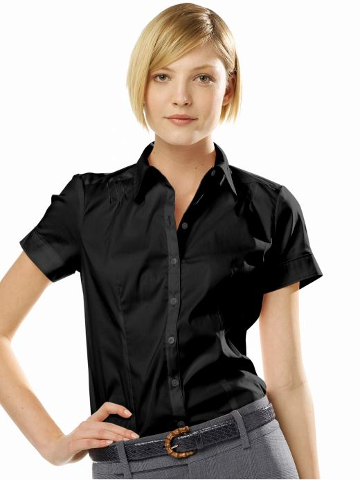 Women'S Short Sleeve Blouses | Fashion Ql