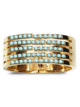 Women's Apparel: Elegant stone hinged bangle: most wanted | Banana Republic from bananarepublic.com