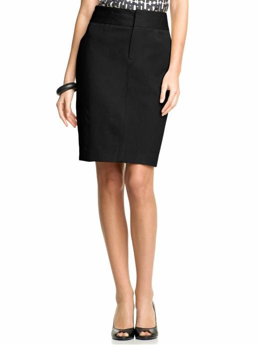 Women's Apparel: Trouser pencil skirt: pencil skirts | Banana Republic :  zipfly clothing fitted womens
