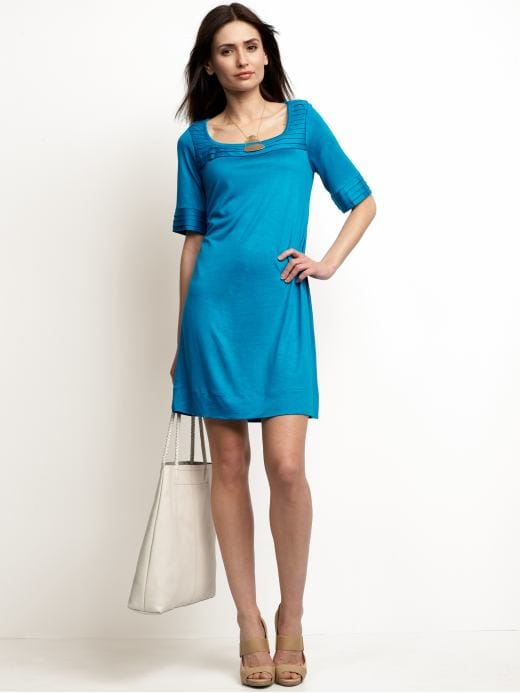 Women's Apparel: Jersey empire-waist dress: solids dresses | Banana Republic :  half sleeve dress banana republic