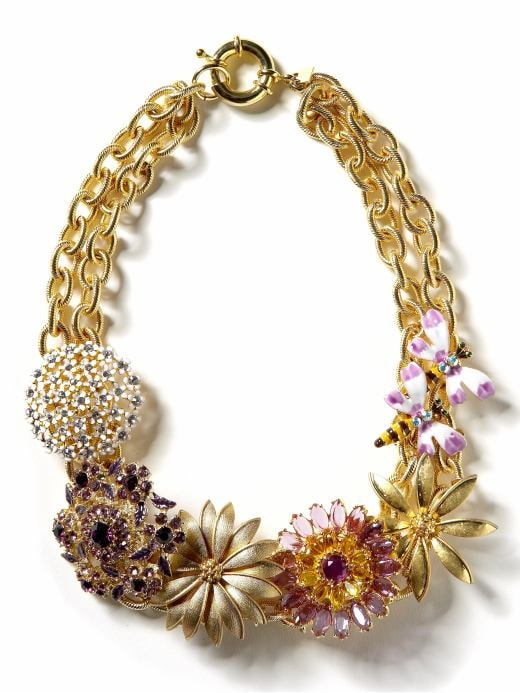 Women's Jewelry & Accessories: Garden statement necklace: garden party | Banana Republic