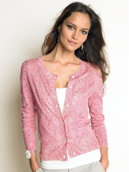 Women's Apparel: Cotton/silk dotted cardigan: cardigans sweaters | Banana Republic :  sweater cardigan banana republic