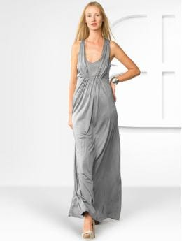Women's Apparel: BR Monogram racerback gown: solids dresses | Banana Republic
