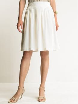 Women's Apparel: Silk dressy skirt: full skirts | Banana Republic