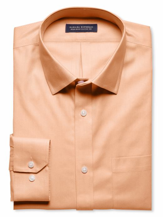 Banana Republic Classic fit non-iron shirt