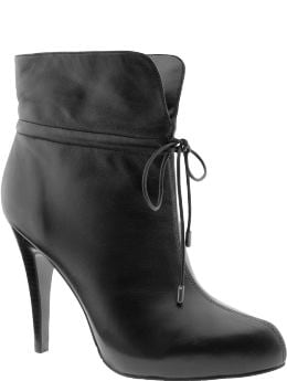Shoes & Handbags: Drawstring cuff bootie: see all shoes | Banana Republic