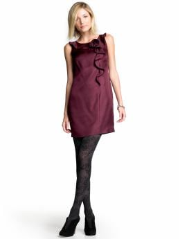 Women's Apparel: Silk rosette dress | Banana Republic