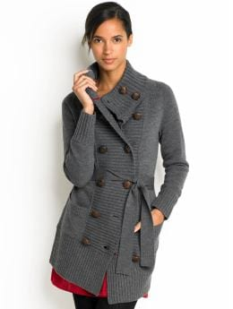 Women's Apparel: Heritage double-breasted cardigan: sweaters sale | Banana Republic :  wool cardigan self belt military