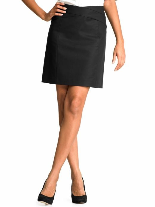 Banana Republic Sleek suit skirt