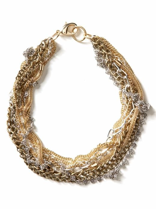 Knots & chains statements necklace - Banana Republic
