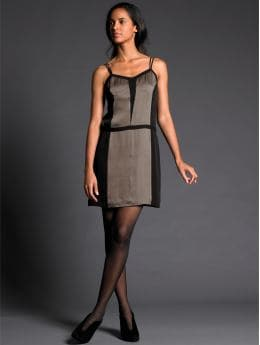 BR Monogram Collection: BR Monogram silk pieced dress: BR monogram collection | Banana Republic :  lingerie dress boudoir silk