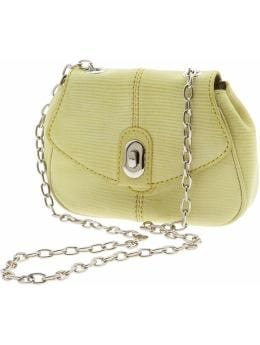 Chain Embossed Mini Cross-Body Bag