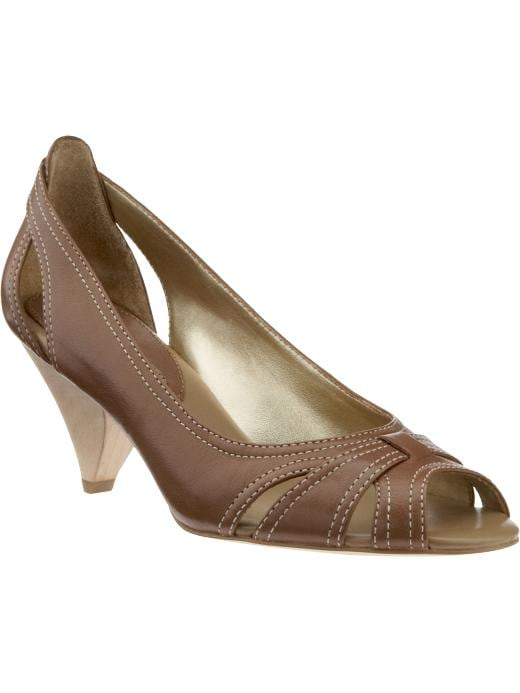 Banana Republic Othello peep-toe pump