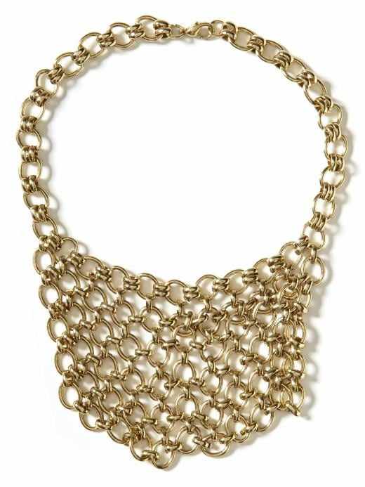 Banana Republic Cast-your-net necklace