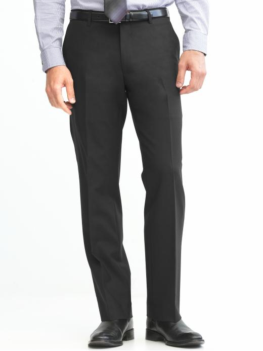Banana Republic Tailored Straight Solid Pants