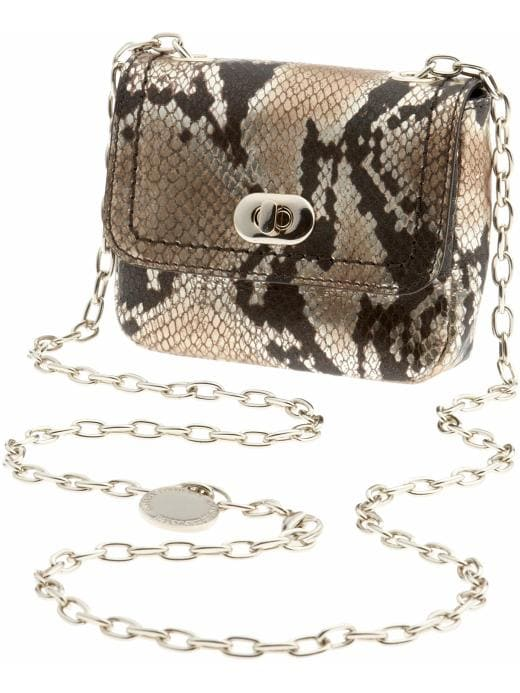 Banana Republic Exotic cross-body party bag