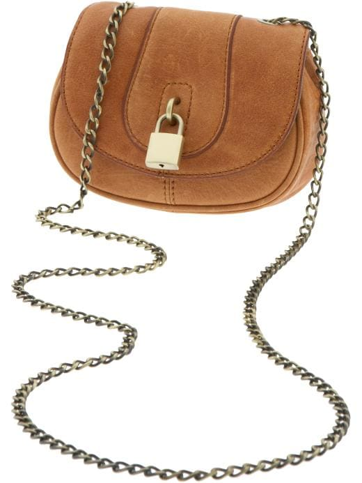 Banana Republic Lock cross-body bag