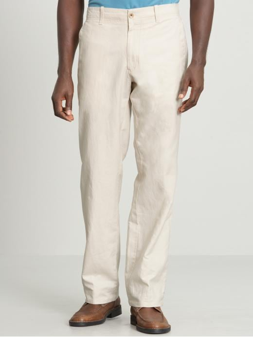 Banana Republic Relaxed linen/cotton drawstring pant