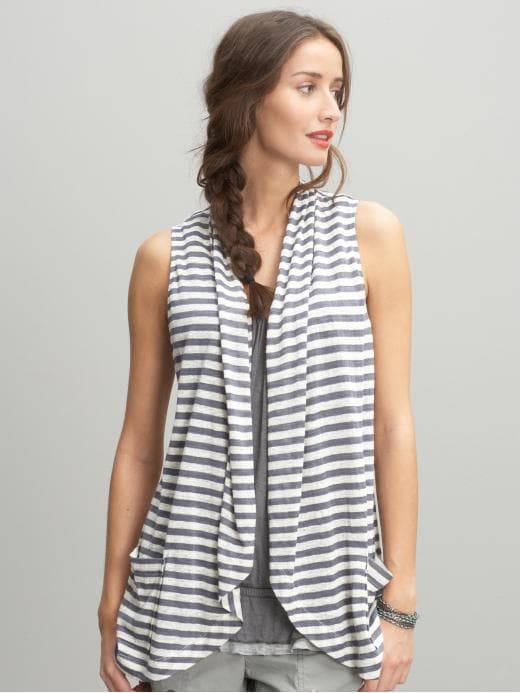 Banana Republic Striped sweater vest