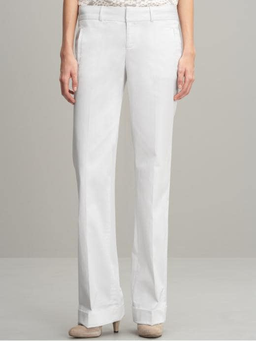 Banana Republic Martin fit sateen trouser