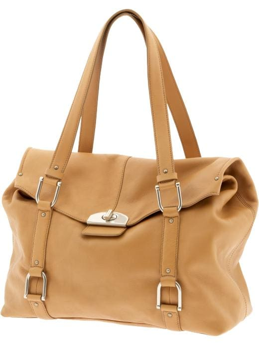 Banana Republic Madison Leather Satchel