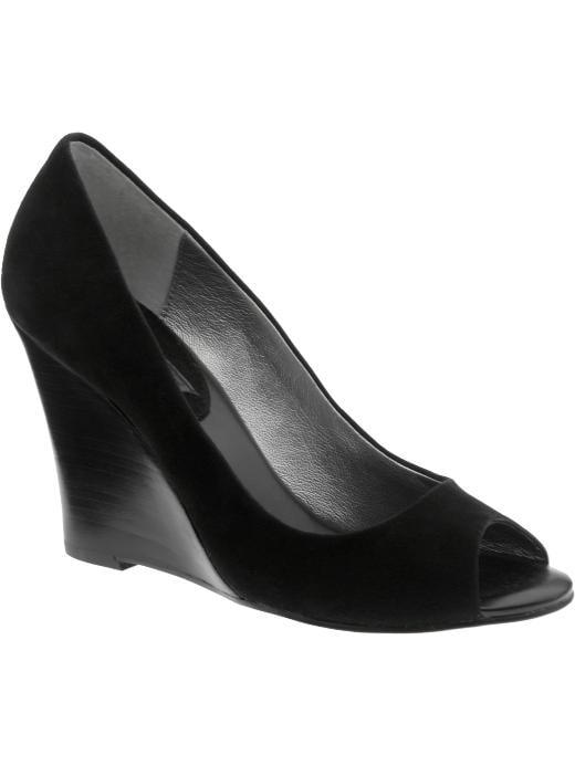 Banana Republic Ines Peeptoe Wedge
