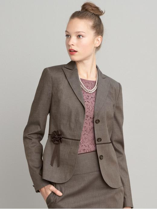 Banana Republic Rosette Tall Blazer