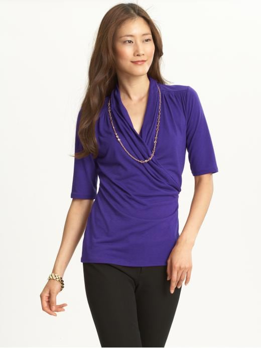 Banana Republic Blake Wrap Blouse