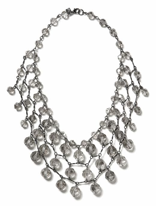 Banana Republic Sparkle Chandelier Necklace