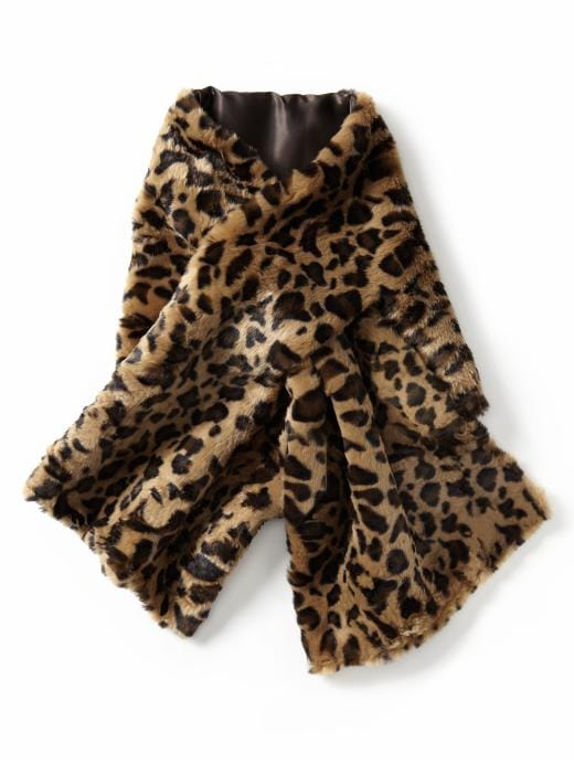 Banana Republic Lucy Faux Fur Scarf