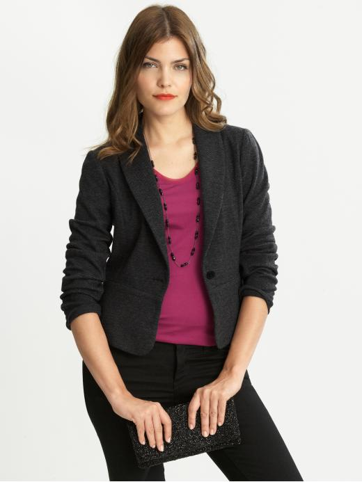 Banana Republic Knit Herringbone Jacket
