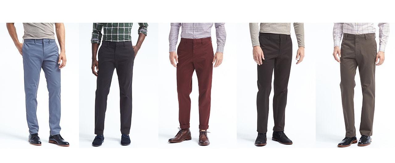 Chinos and Casual Pants