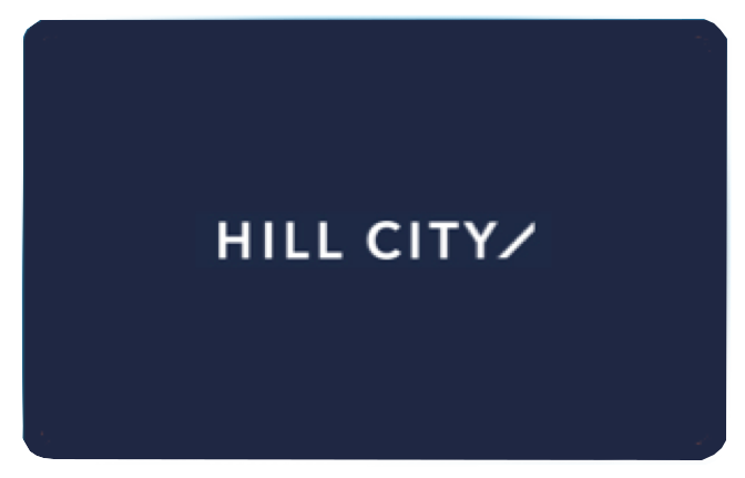 HILL CITY Gift Card
