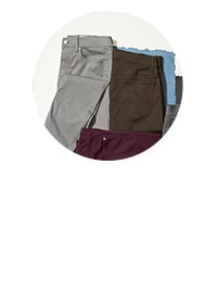 shop all chinos. background image