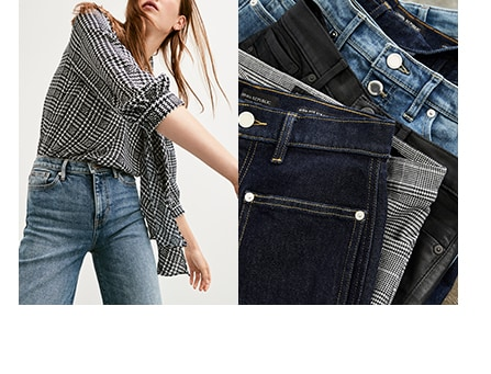 womens denim. background image