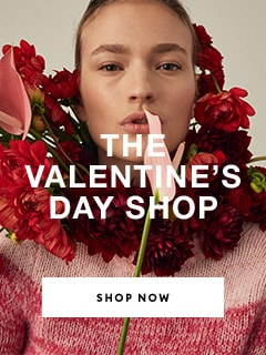 The valentines day shop. text