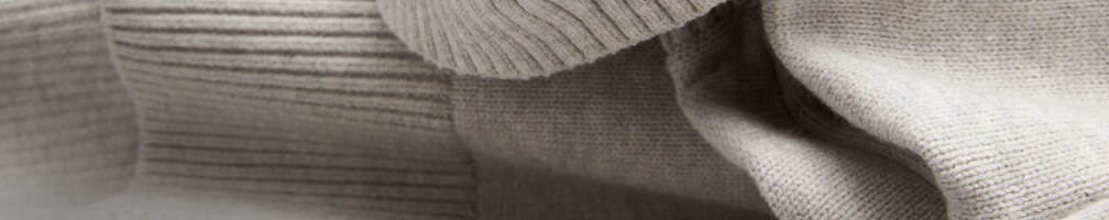 Sweater care guide. background image