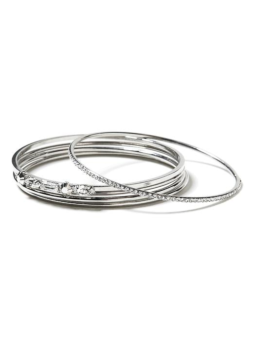 Banana Republic Baguette Bangle Set